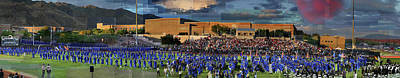 Photograph - Catalina Foothills High School Graduation 2016 by Stephen Farley