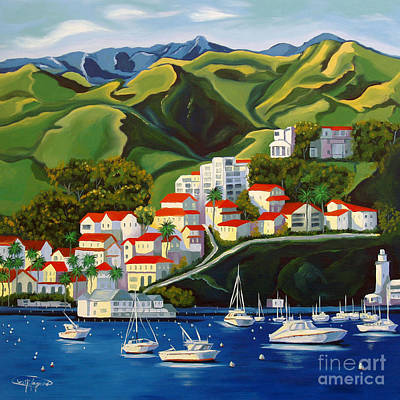Painting - Catalina Island 2 by Milagros Palmieri