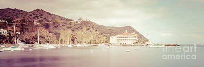 Avalon Photograph - Catalina Island Panorama Picture Of Avalon Bay by Paul Velgos