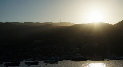 Photograph - Catalina Island Sunset by Laurie Pike