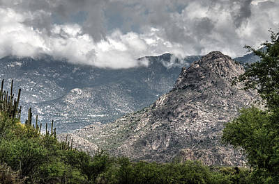 Catalina Mountains Art Print