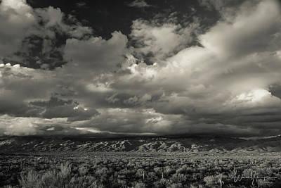 Photograph - Catalina Mountians, Az - 1678,sw by Wally Hampton