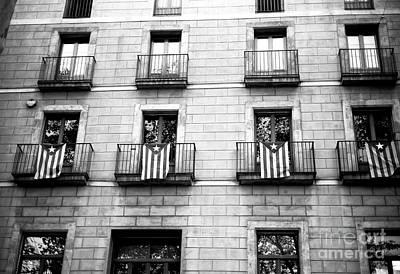 Photograph - Catalonia Pride On La Rambla by John Rizzuto