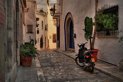 Catalonia - The Town Of Sitges 004 Print by Lance Vaughn