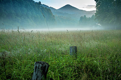 Photograph - Cataloochee Valley Dawn by Jemmy Archer