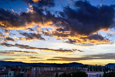 Photograph - Catalunya Sunset by Randy Scherkenbach