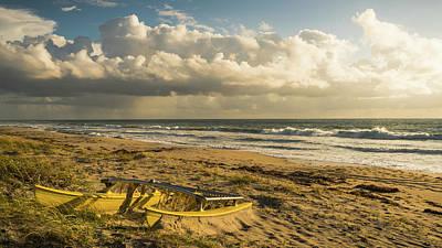 Photograph - Catamaran Wreck Delray Beach Florida by Lawrence S Richardson Jr