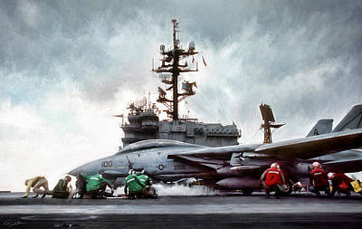 Storm Digital Art - Catapult Crew by Peter Chilelli
