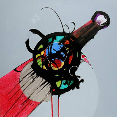 Painting - Catapult by Marlene Burns