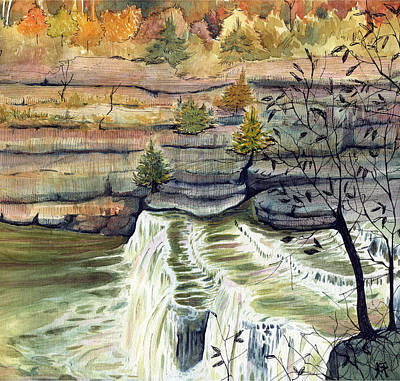 Painting - Cataract Falls by Katherine Miller