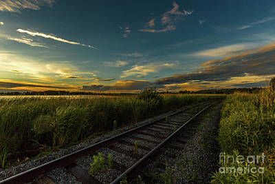 Photograph - Cataraqui Rails by Roger Monahan