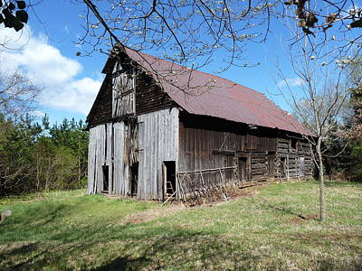 Photograph - Catawba County Barn by Joel Deutsch