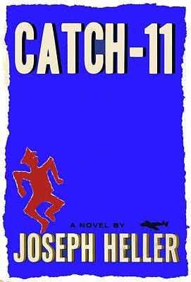 Catch 22 Novel Cover 1961 Jagged Border Added 2016 Print by David Lee Guss