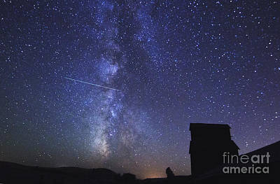 Astro Photograph - Catch A Falling Star by Betty Doran