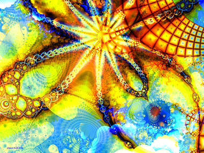 Digital Art - Catch A Falling Star by Claire Bull