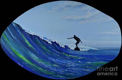 Catch A Wave Art Print