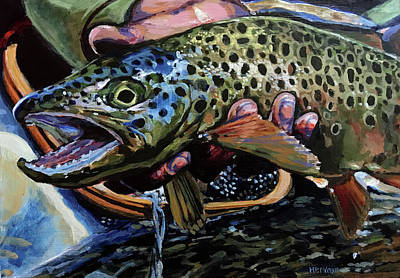 Painting - Catch Of The Day by Les Herman