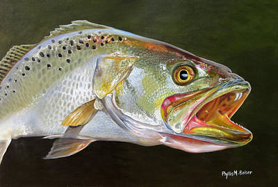Grande Painting - Catch Of The Day by Phyllis Beiser
