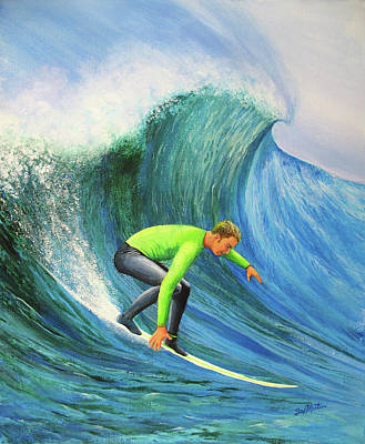 Painting - Catch The Wave by Beverly Martin