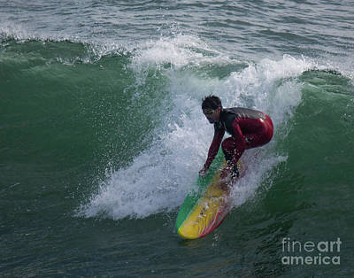 Photograph - Catch The Wave by Cheryl Del Toro