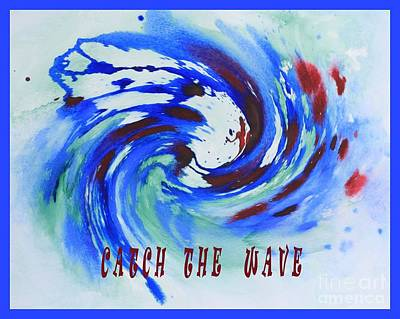 Catch The Wave Art Print