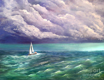 Painting - Tell The Storm by Patricia L Davidson