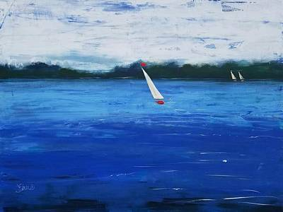 Painting - Catch The Wind by Terri Einer
