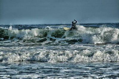 Photograph - Catching A Wave by Mike Martin
