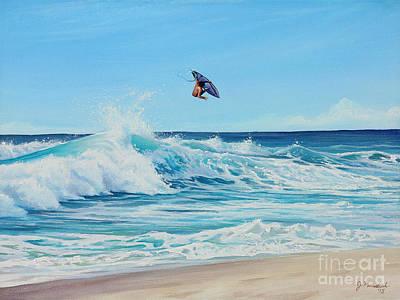 Painting - Catching Air by Joe Mandrick
