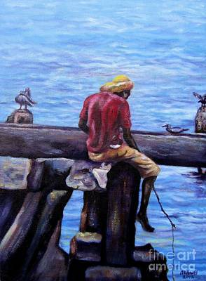Painting - Catching Dinner by Ewan McAnuff