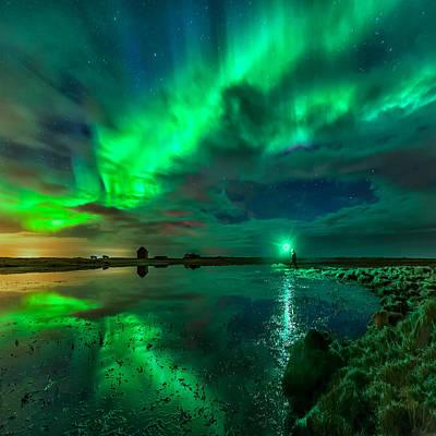 Photograph - Catching Lights by Sigurdur William Brynjarsson