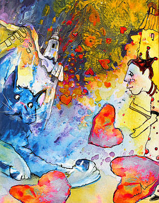 Painting - Catching Love by Miki De Goodaboom