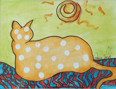 Painting - Catching Some Rays by Patricia Voelz