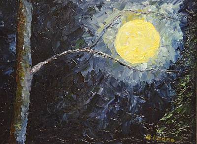 Painting - Catching The Moon by Burton Hanna