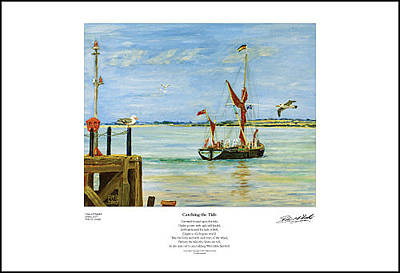 Painting - Catching The Tide - Giclee Print by Peter Mark Butler