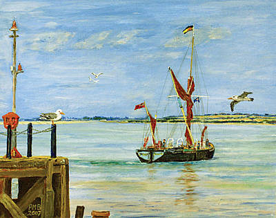 Painting - Catching The Tide by Peter Mark Butler