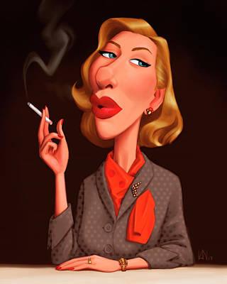 Cate Blanchett Digital Art - Cate by Victor Navone