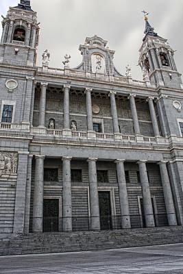 Photograph - Catedral De La Almudena 2 by Angel Jesus De la Fuente