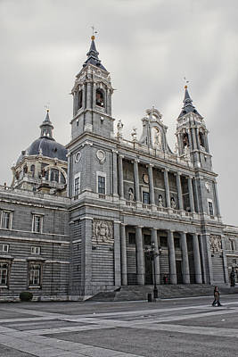 Art Print featuring the photograph Catedral De La Almudena by Angel Jesus De la Fuente