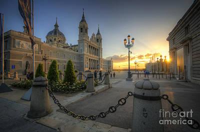 Photograph - Catedral De La Almudena by Yhun Suarez