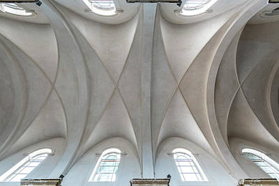 Photograph - Catedral De La Purisima Concepcion Ceiling by Lou Novick