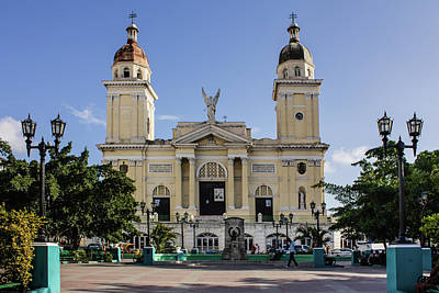 Photograph - Catedral De Nuestra Senora De La Asuncion Color by Dawn Currie