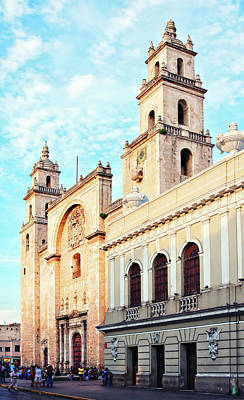 Photograph - Catedral De San Ildefonso by Tatiana Travelways
