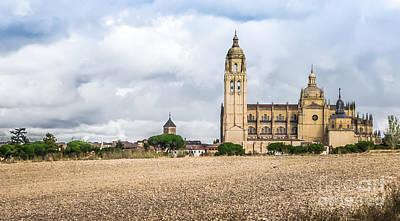 Photograph - Catedral De Santa Maria De Segovia, Spain by JR Photography