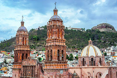 Photograph - Catedral De Zacatecas  by Rollie Robles