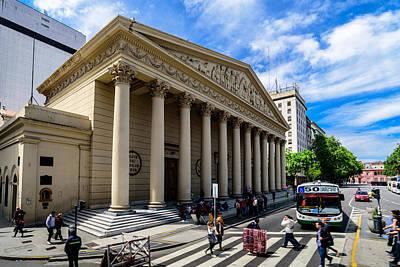 Photograph - Catedral Metropolitana De Buenos Aires by Randy Scherkenbach