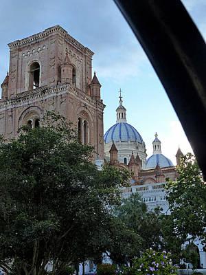 Photograph - Catedral Nuevo Cuenca Ecuador 16 by Jeff Brunton
