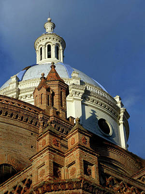 Photograph - Catedral Neuvo Cuenca Ecuador 34 by Jeff Brunton