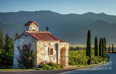 Photograph - Castello Di Amorosa - Napa Valley by Brian Jannsen