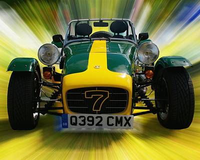 Photograph - Caterham 7 by Chris Day